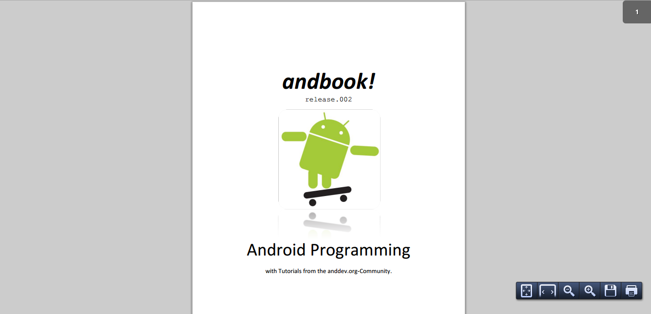Andbook Android Programming