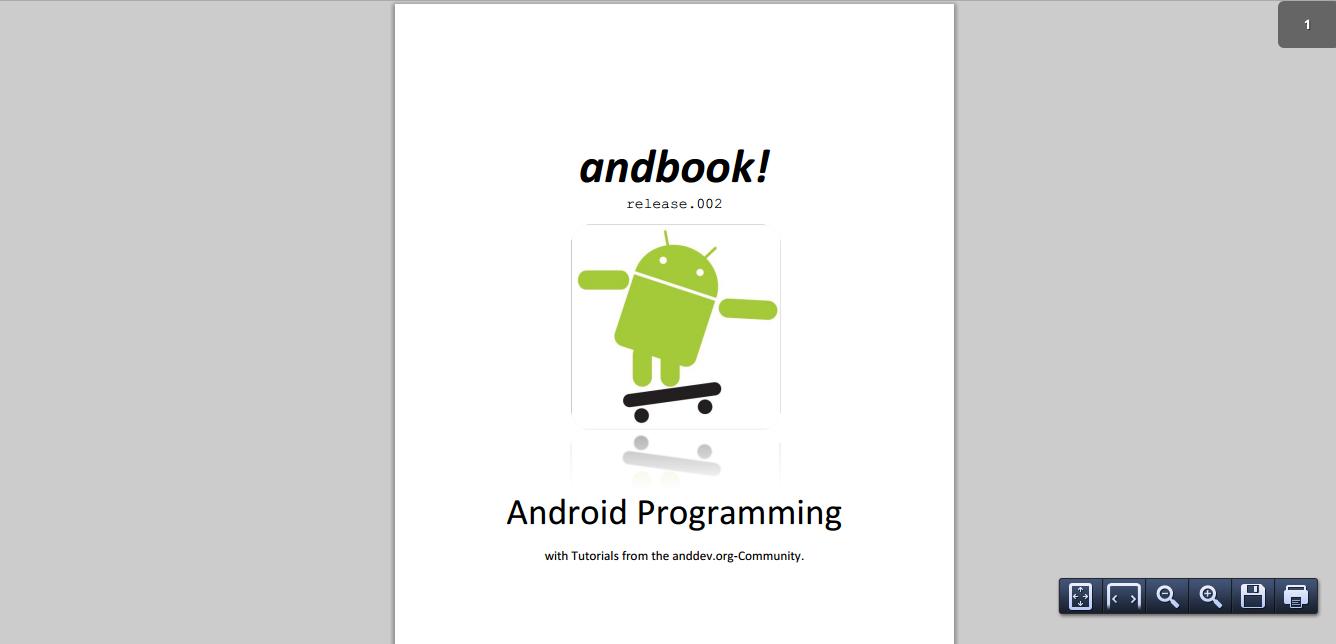 Andbook Android Programming