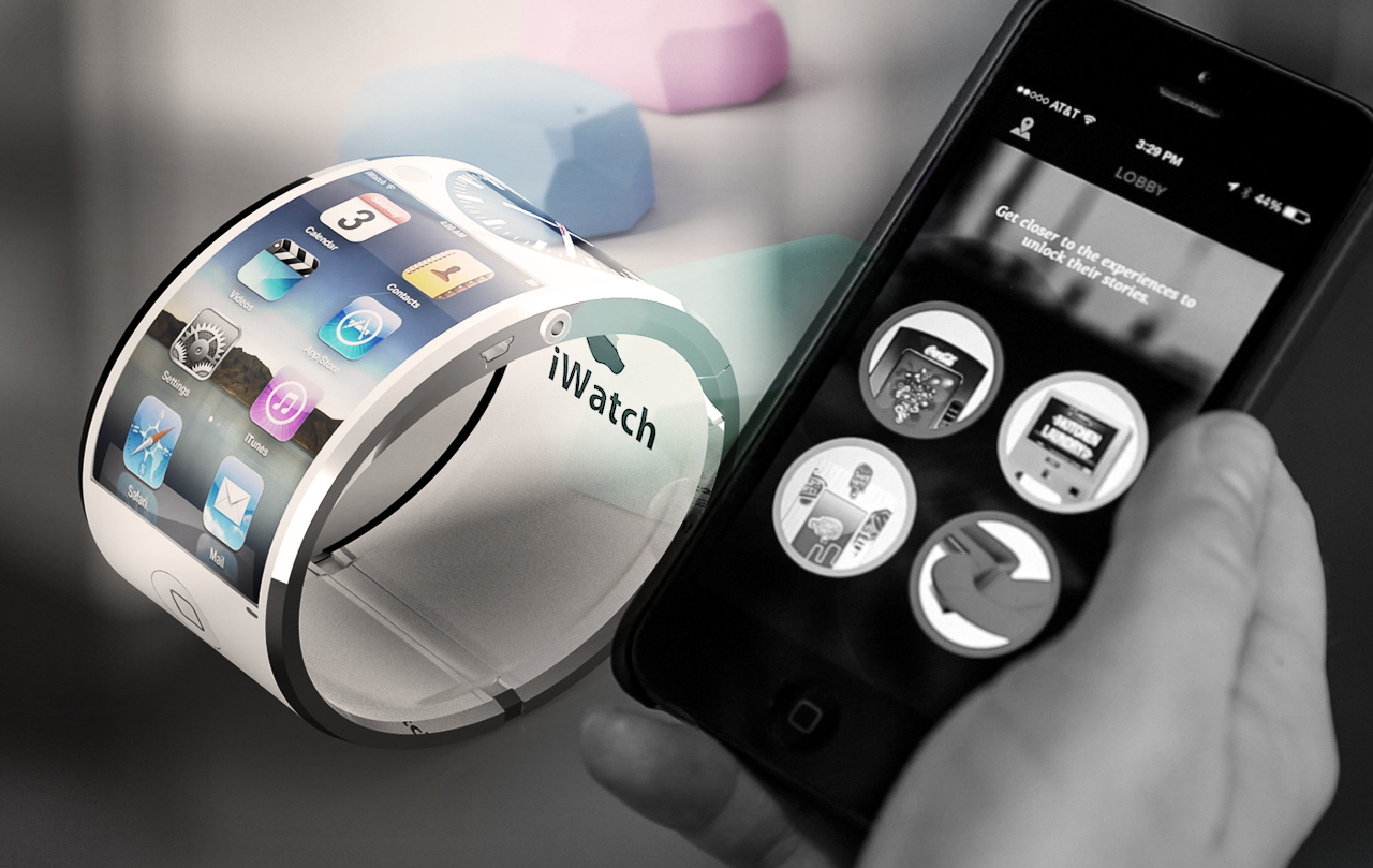 Apple iWatch with Beacon Technology