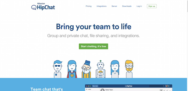 Private group chat video chat instant messaging for teams – HipChat