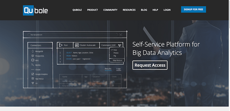 Qubole   Big Data as a Service