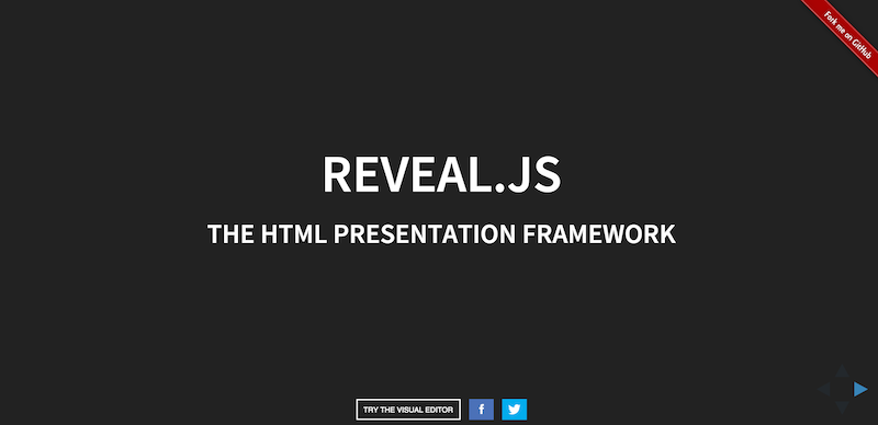 reveal.js   The HTML Presentation Framework