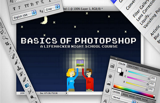Basics of Photoshop
