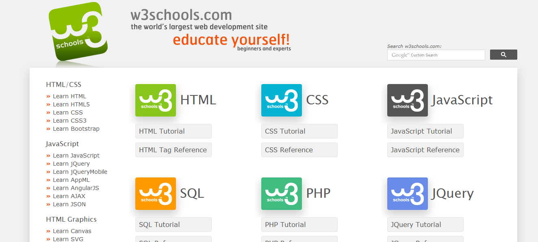 W3 Schools