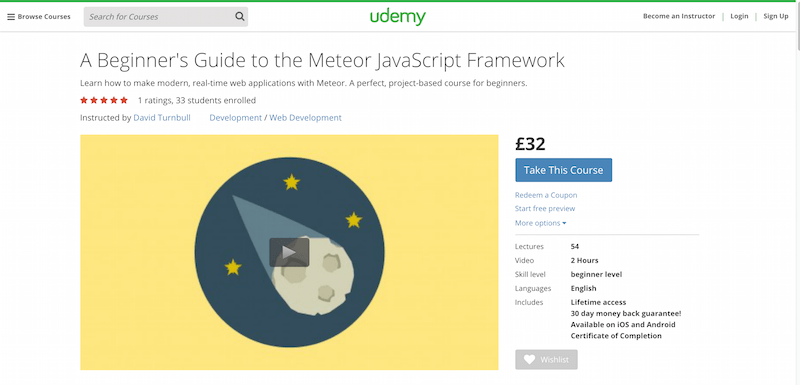 A Beginner s Guide to the Meteor JavaScript Framework
