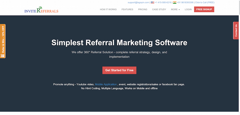 Customer Referral Program Referral Marketing Software InviteReferrals