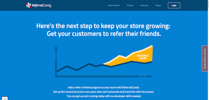 Customer Referral Program Software Refer a Friend Software ReferralCandy