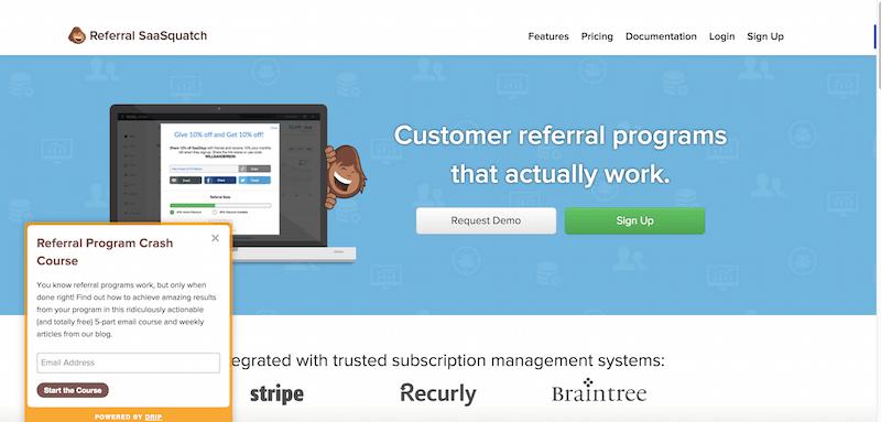 Customer Referral and Refer a friend Program Software Platform