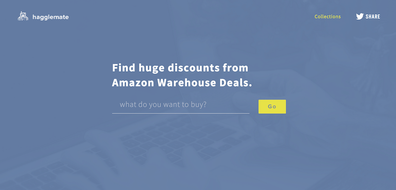 Hagglemate Amazon Warehouse Deals Discount Finder