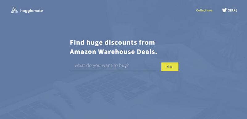Hagglemate Amazon Warehouse Deals Discount Finder