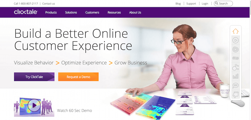 Improve Digital Customer Experience ClickTale