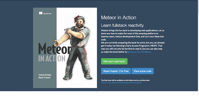 Meteor in Action Building realtime apps with ease