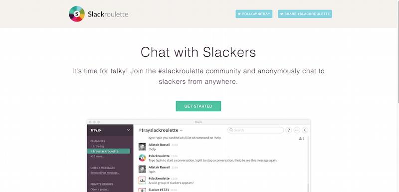 Slackroulette   Chat With Slackers