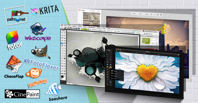 Top 12 Free Photoshop alternatives_670