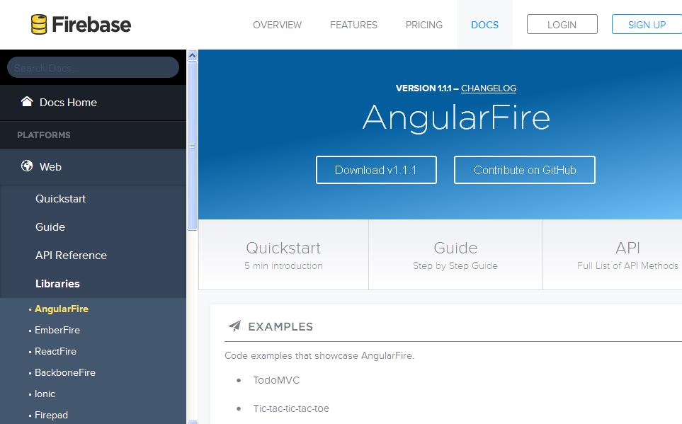 Angular Fire