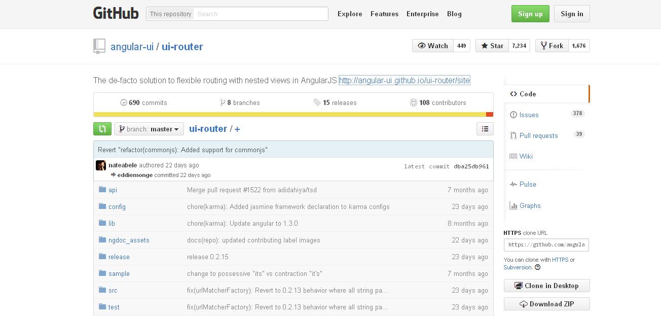 Angular UI Router