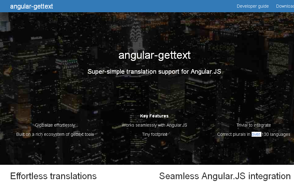 Angular-gettext