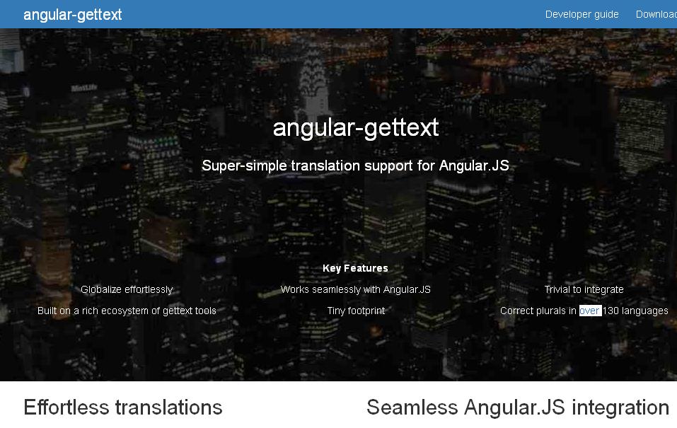 Angular-gettext