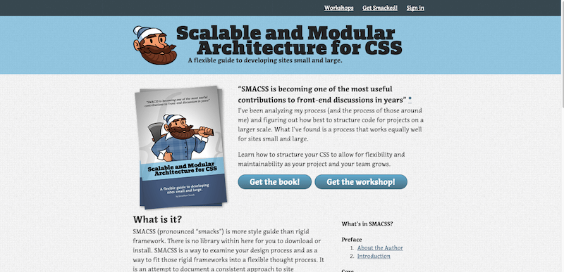 Home Scalable and Modular Architecture for CSS