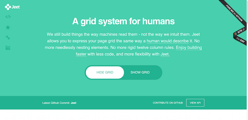 Jeet Grid System Smart CSS preprocessor grids