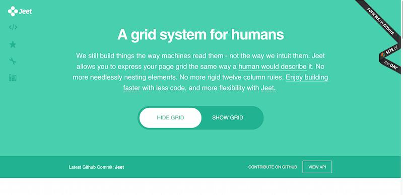 Jeet Grid System   Smart CSS preprocessor grids