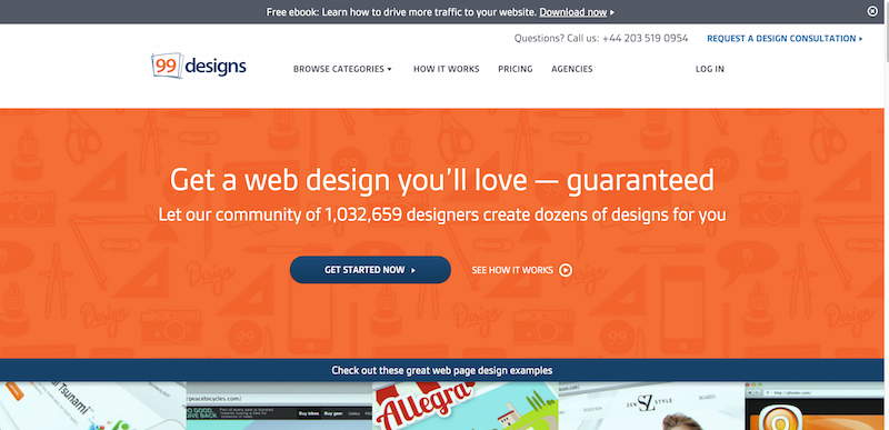 Quality Web Page Design   Designers   Guaranteed   99designs