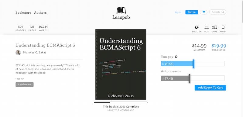 Understanding… by Nicholas C. Zakas Leanpub PDF iPad Kindle