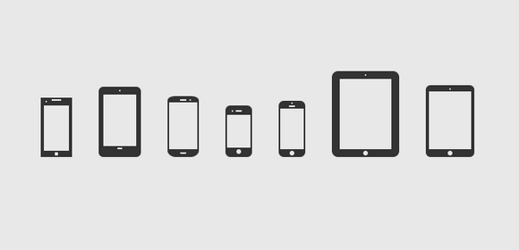 mobile smartphone icons