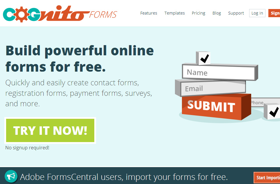 12 Best Online Form Builders for your website