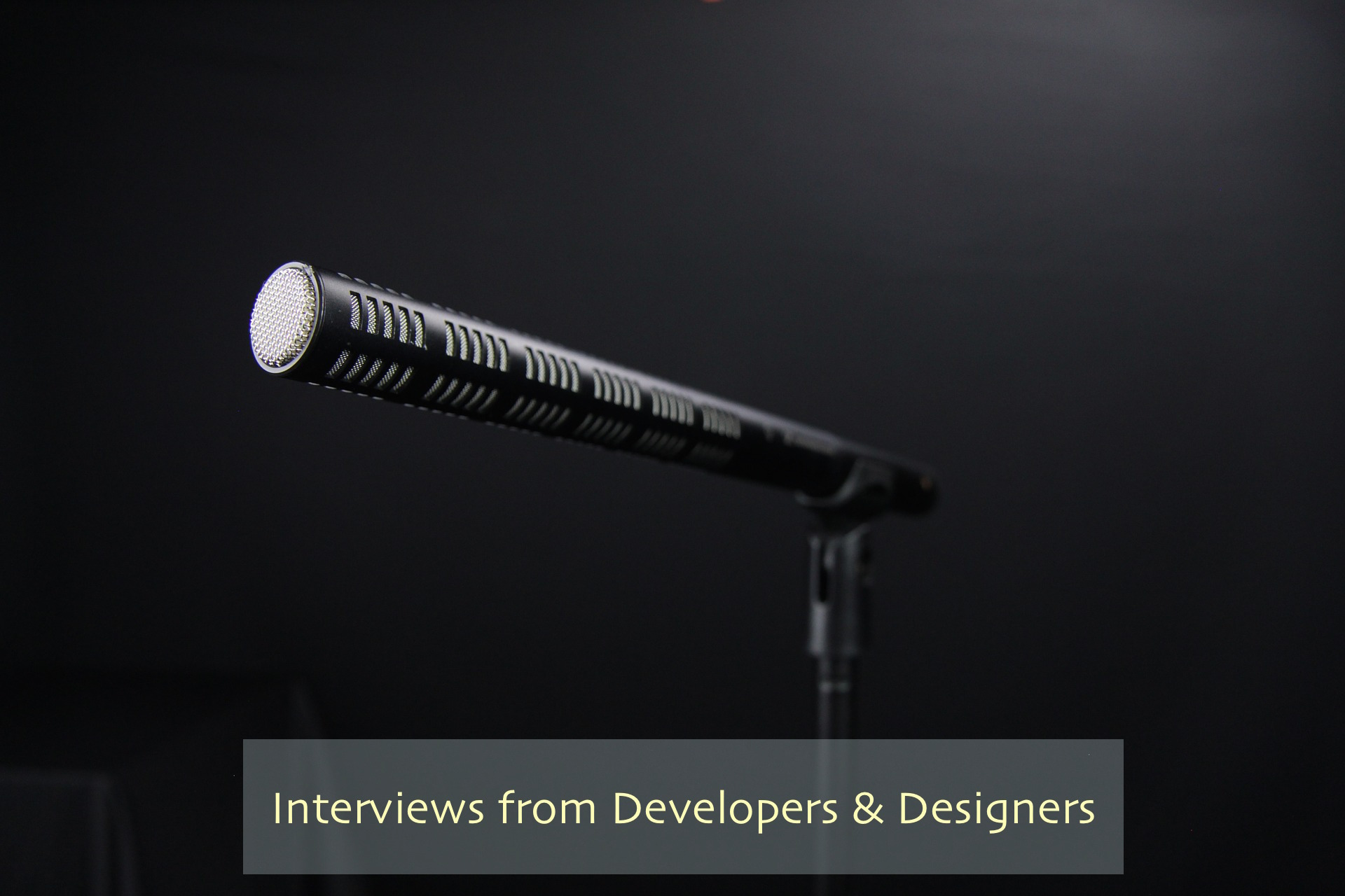 Interviews from Developers & Designers