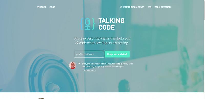 Talking Code