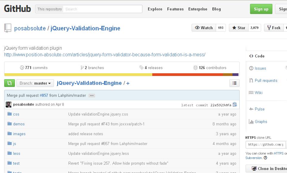 validation engine jquery