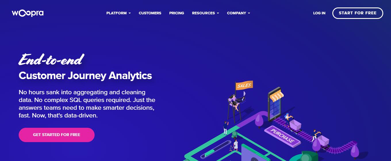 woopra product analytics company