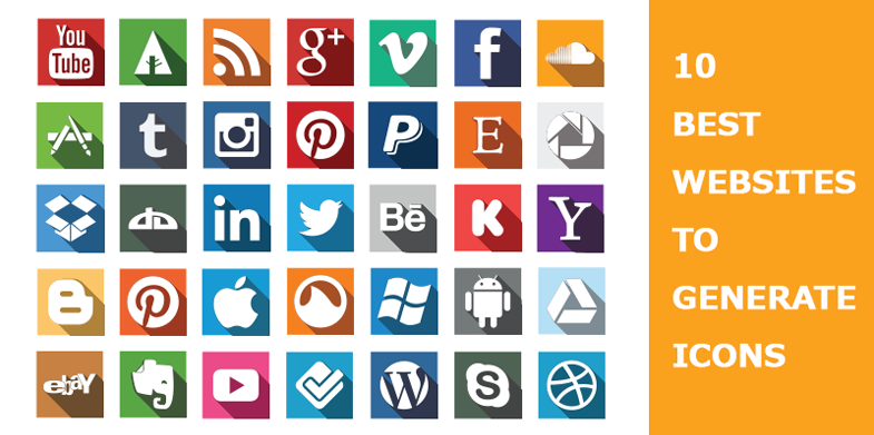 10 Best websites to Generate Icons