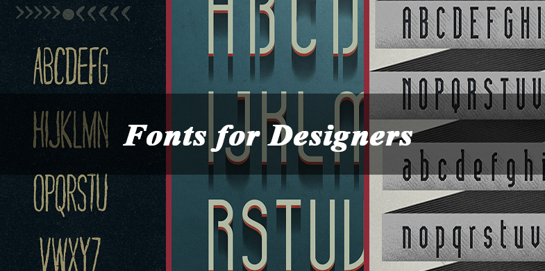 20 Free Fonts for Designers