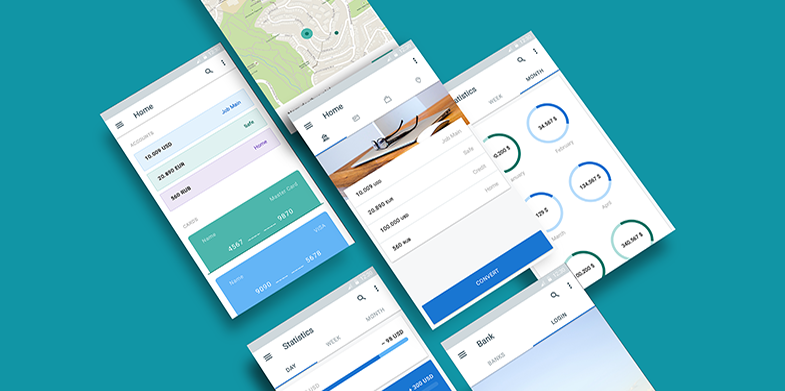 Material Design Resources For Web Designers And Developers - Google design templates