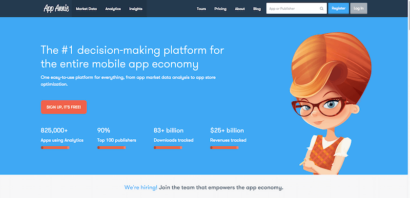 App Annie   The App Analytics and App Data Industry Standard
