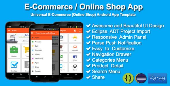 E-Commerce - Online Shop App