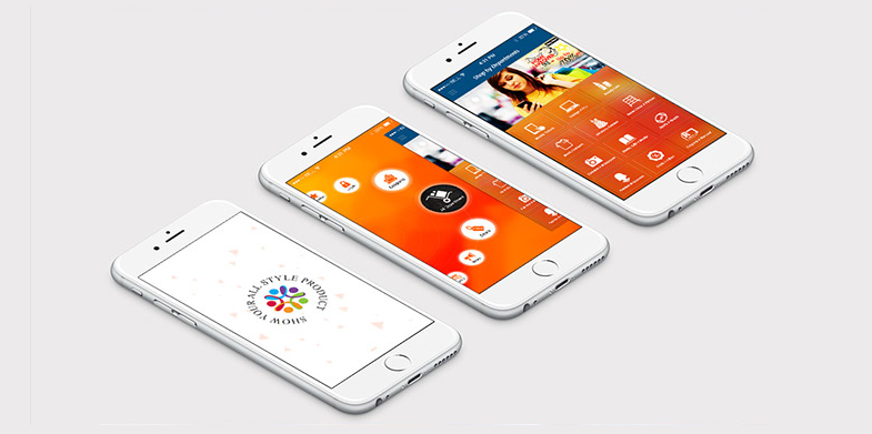 Free Shopping E-Commerce App PSD