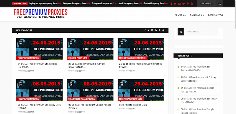 Get Free Premium Proxies Daily Updated Only Elite Proxies Here
