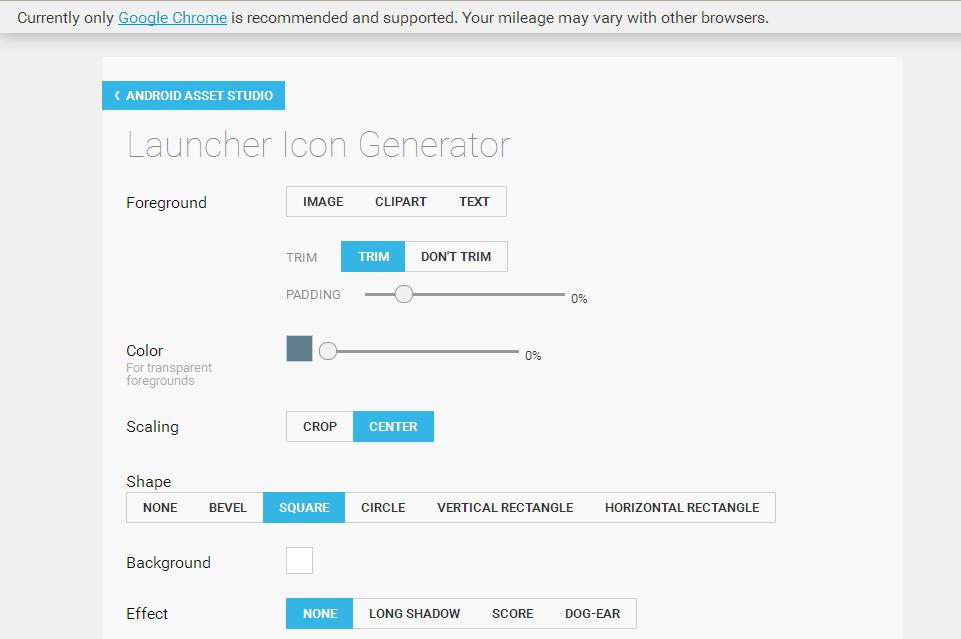 Launcher Icon Generator