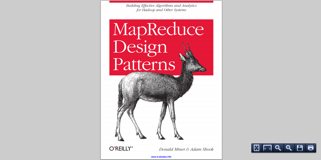 Map Reduce design pattern by Donald Miner and Adam Shook