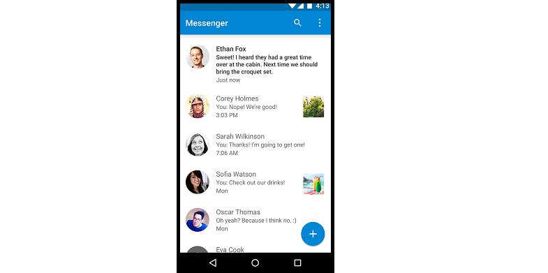 Messenger from Google