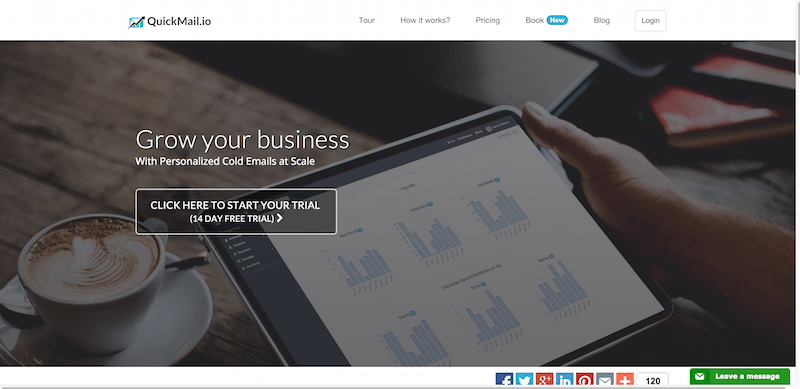 Quickmail.io   Grow your business with cold emails at scale