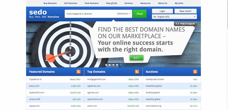 Sedo   The world s leading domain marketplace
