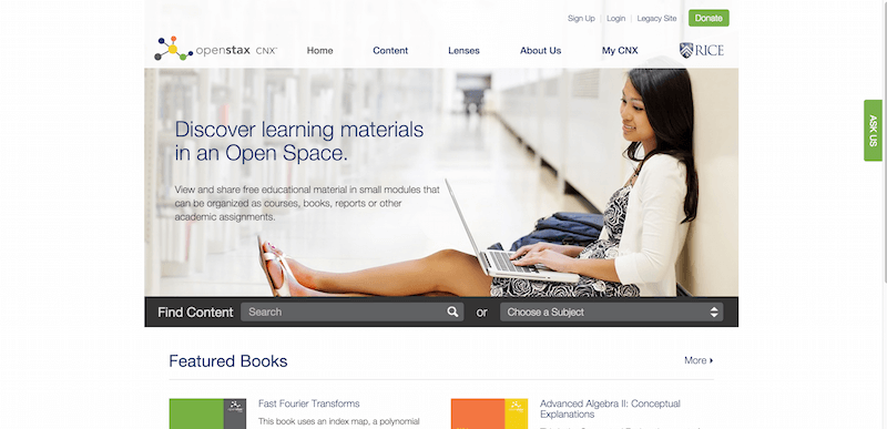 Sharing Knowledge and Building Communities OpenStax CNX