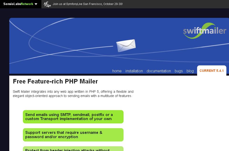 Swiftmailer