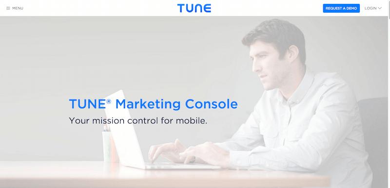 TUNE   Marketing Console