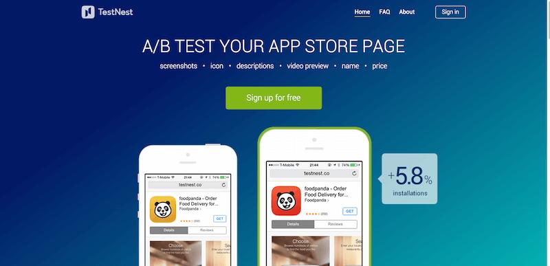 TestNest   A B test app meta data before the App Store release