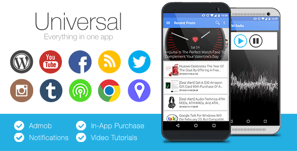 7 android app templates for startup owners universal full multi purpose android app pronofoot35fo Images